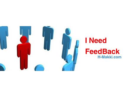I Need FeedBack